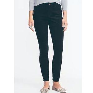 Teal Mid-Rise Rockstar Super Skinny Velvet Pants